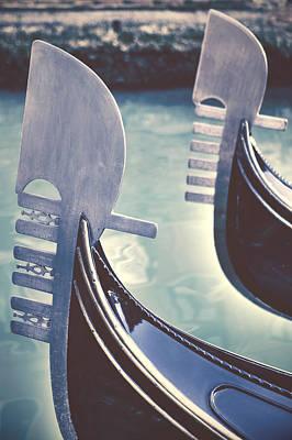 gondolas - Venice Poster by Joana Kruse