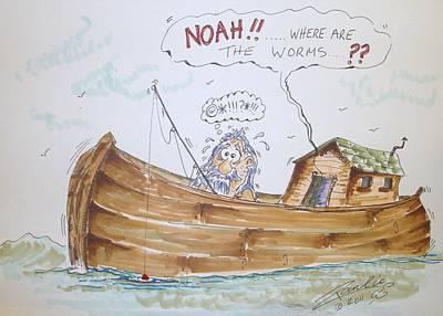 Gone Fishing Poster by Paul Chestnutt