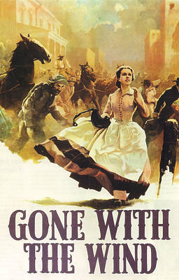 Gone With The Wind Poster by Georgia Fowler