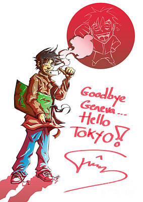 Goodbye Poster by Tuan HollaBack
