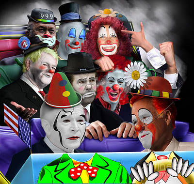Gop - The Greatest Show On Earth Poster by Reggie Duffie