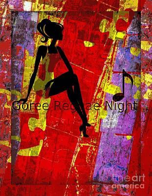 Goree Reggae Night Poster