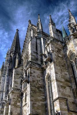 Gothic Stonework Poster by Anthony Citro