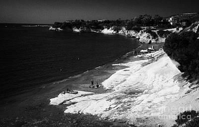Governors Beach Near Limassol Lemesos Republic Of Cyprus Europe Poster