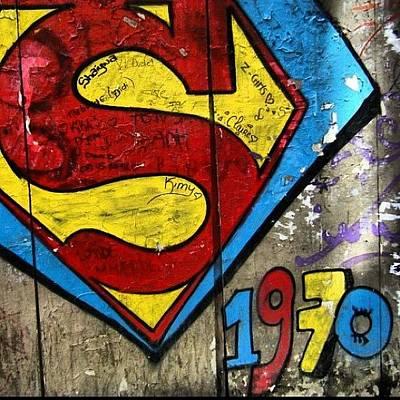 #grafetti #superman #1970 #paris Poster