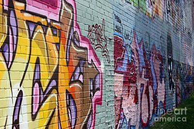 Graffiti 7 Poster by Sophie Vigneault