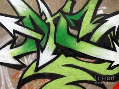 Graffiti Painting Poster
