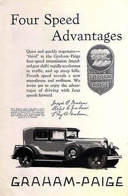 Graham Paige 1928 Poster