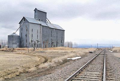Grain Mill In Loveland Co. Poster