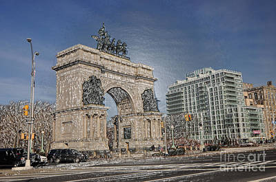 Grand Army Plaza Poster by Mark Gilman
