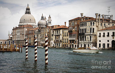 Grand Canal Poster by Greg Stechishin