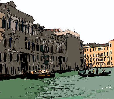 Grand Canal Venice IIi Poster by Mindy Newman