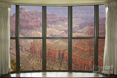 Grand Canyon North Rim Bay Window View Poster by James BO  Insogna