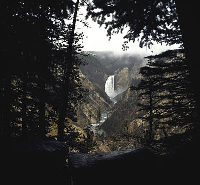 Poster featuring the photograph Grand Canyon Of The Yellowstone  by J L Woody Wooden