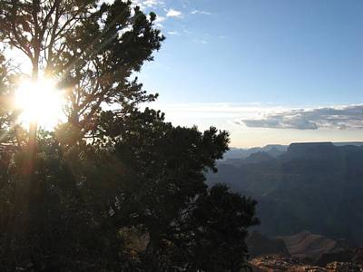 Grand Canyon Sun Poster