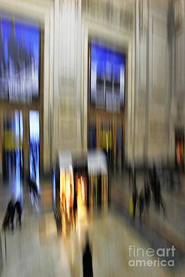 Poster featuring the photograph Grand Central Station Italian Style by Andy Prendy
