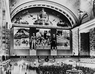Grand Central Terminal Mural. A Huge Poster