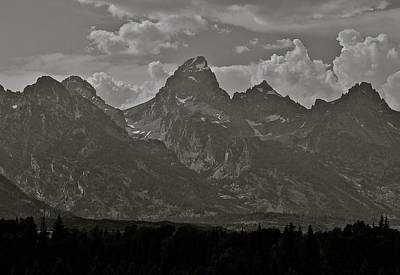 Poster featuring the photograph Grand Tetons by Eric Tressler