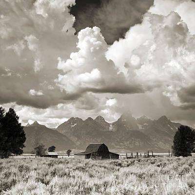 Grand Tetons Jackson Barn Poster by Dustin K Ryan
