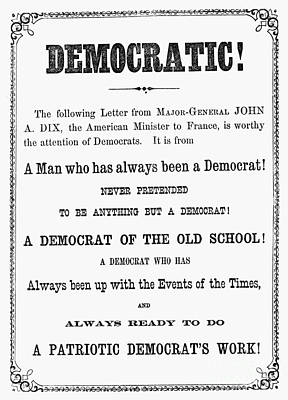 Grant: Election Of 1868 Poster