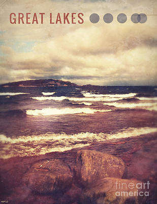 Poster featuring the photograph Great Lakes by Phil Perkins