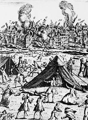 Great Lisbon Earthquake Of 1755 Poster