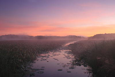 Great Meadows National Wildlife Refuge Dawn Poster by John Burk