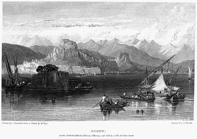 Greece: Corfu, 1832 Poster