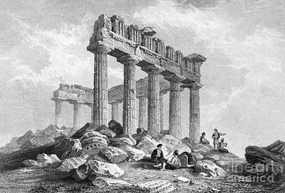 Greece: The Parthenon 1833 Poster by Granger