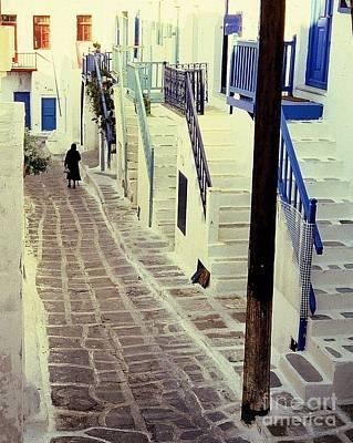 Greek Island Poster