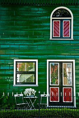 Green House Poster by Michele Mule'