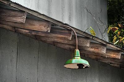 Green Light Poster by Brenda Bryant
