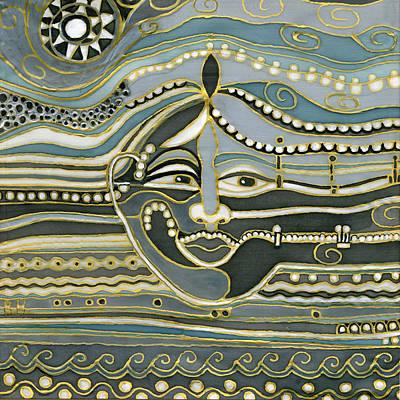 Green Maya Poster