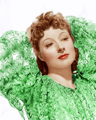 Greer Garson In Photo By Clarence Poster
