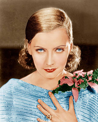 Greta Garbo, Mgm Portrait, Ca. 1928 Poster