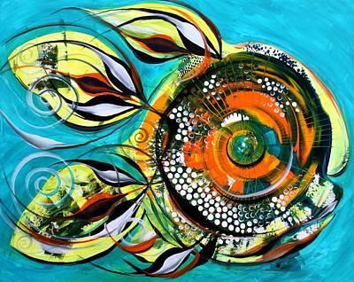 Gretchen Fish A Citrus Twist Poster