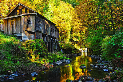 Poster featuring the photograph Grist Mill by Jim Boardman