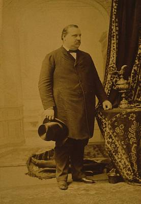 Grover Cleveland 1837-1908,was The Only Poster by Everett
