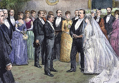 Grover Cleveland: Wedding Poster by Granger