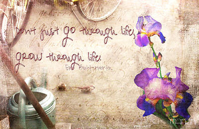 Grow Through Life Poster