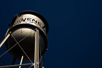 Gruene Water Tower Poster
