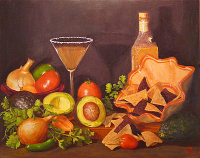 Poster featuring the painting Guacamole by Joe Bergholm