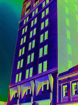 Poster featuring the photograph Guaranty Bank Building by Louis Nugent