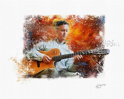 Guitar Jazz Poster