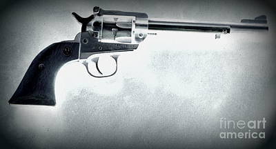Poster featuring the photograph Guns And Leather 3 by Deniece Platt
