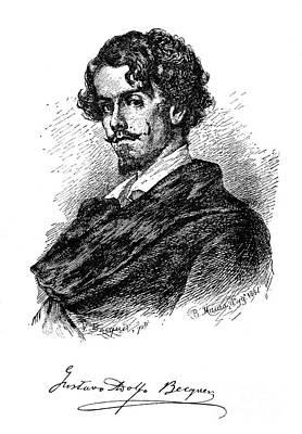 Gustavo Adolfo Becquer Poster by Granger