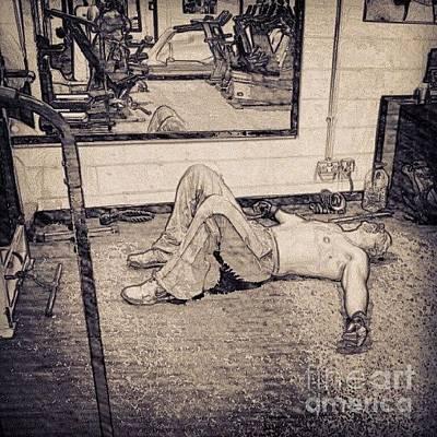 #gym #sport #relax #1stangel Poster