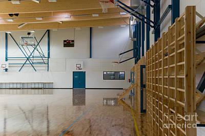 Gymnasium Interior Poster