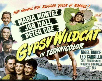 Gypsy Wildcat,  Top Left Leo Carillo Poster by Everett