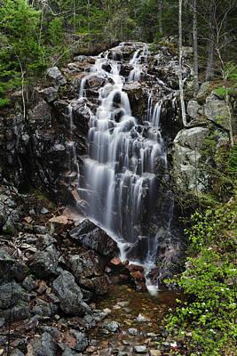 Hadlock Falls Acadia Poster by Rick Berk